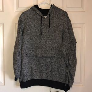 American Stitch Grey Pullover Hoodie